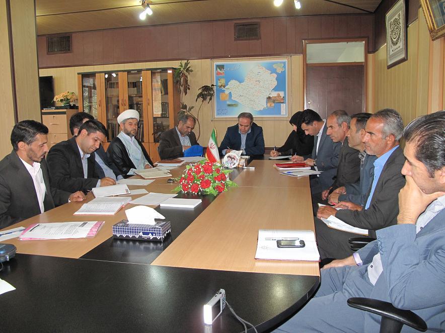 برگزاری جلسه انجمن کتابخانه¬های عمومی شهرستان خدابنده