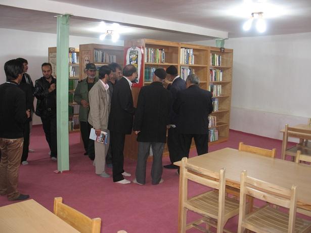 افتتاح کتابخانه عمومی نور در در چهارمین روز از هفته کتاب